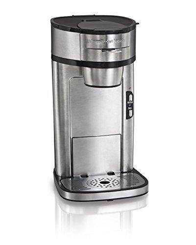 Hamilton Beach 49981A Coffee Maker, Single Serve, Silver (Renewed)