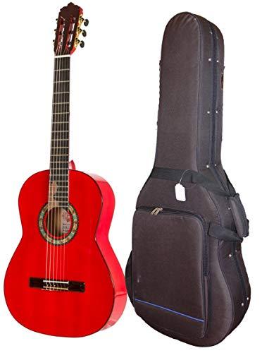 Guitarra Flamenca flaca de ciprés rojo hecha a de...