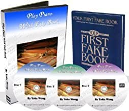 Piano Lessons - Play Piano with Fake Book Serie 1 (3 Dvds, 1 Fakebook) (Piano Fake Book)