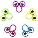 30 Stücke Auge Fingerpuppen Auge Auf Ringe Googly Augapfel Ring Party Favor Spielzeug für Kinder, 5 Farben (Kleine Größe) -