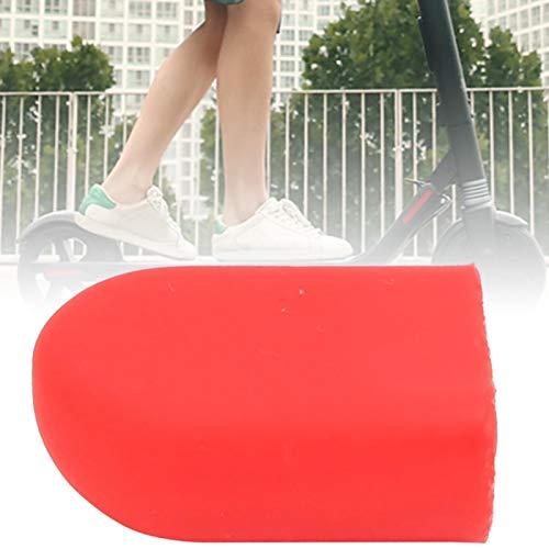 DAUERHAFT Calidad de la Cubierta del pie del pie de Apoyo de la Vespa eléctrica, Conveniente para la Vespa eléctrica(Red)