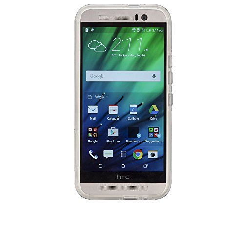 Case-Mate Barely There - Funda para HTC One M9, transparente