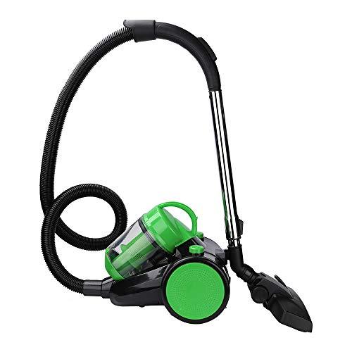 BMOT 3L staubsauger beutellos 900 Watt,bodenstaubsauger mit hocheffizienter Hepa-Filter fur Entfernen von Tierhaaren,handlich,leise,Grün