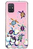 Oihxse Funda para Samsung Galaxy Note 9 Transparente, Estuche con Samsung Galaxy Note 9 Ultra-Delgado Silicona TPU Suave Protectora Carcasa Océano Animal Serie Bumper (C5)