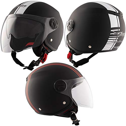 A-Pro -  Motorrad Jet Helm