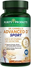 Dr. Cannell's Advanced D Sport Purity Products Capsules, 60 Count