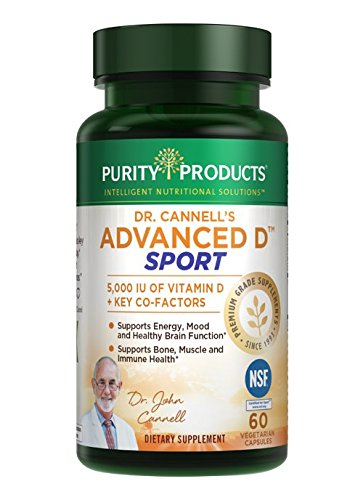Dr. Cannell's Advanced D Sport Purity Products...