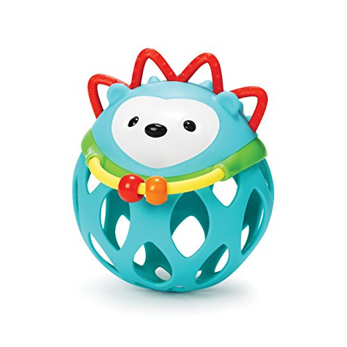Skip Hop Explore and More Roll Around Baby Rattle Toy, Hedgehog