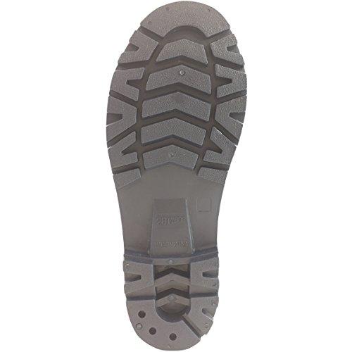 『ワークスタイルエース 先芯入り 耐油底安全長靴 迷彩グレー 26.5cm WS3200』の3枚目の画像