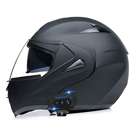 BDTOT Motorradhelm Helm Motorrad mit...