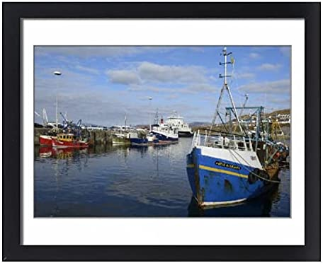 robertharding Framed 20x16 Print of Harbour Boats Ranking Phoenix Mall TOP10 in Fishing The