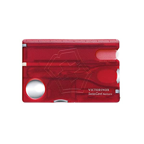 Beauty Shopping Victorinox 0.7240.T Swisscard Nailcare Ruby 81mm Helps You Stay Well-Groomed and