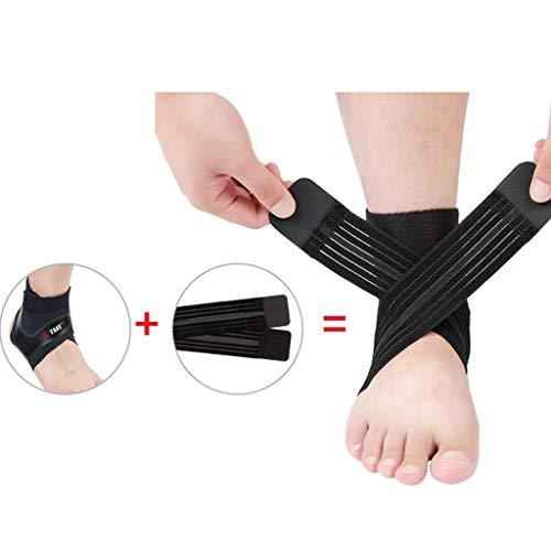 XXT en el tobillo fijo, rehabilitación, torceduras antiestáticas, protección para tobillos de baloncesto, color a, tamaño 23-24.5cm
