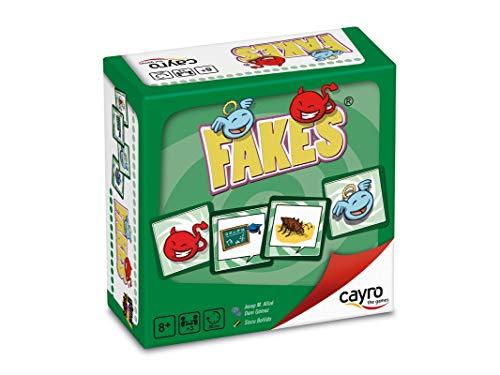 Cayro - Fakes - Juego de adivinanzas - Juego de Mesa - Desarrollo de Habilidades cognitivas - Juego de Mesa (7005)