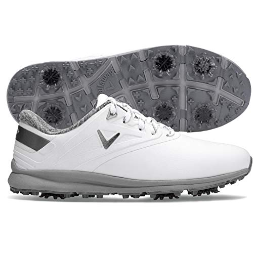 Callaway Women's Coronado Golf Shoe, White, 6 B US