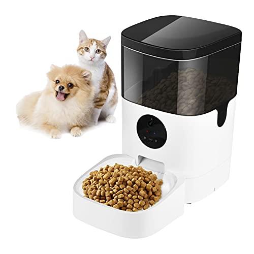Automatische voerbak voor huisdieren, automatische voerbak voor katten met camera Slimme voerbak voor hondenkatten