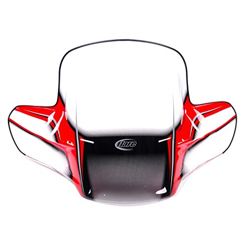 Kimpex ATV Front Windshield Gen 2 Red Arctic Cat Can-Am Kawasaki Suzuki More