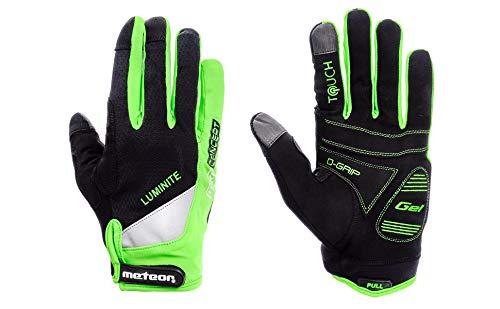 Meteor FX-31 Fietshandschoenen, MTB-handschoenen, heren, downhill fietshandschoenen, voor jongens, mountainbike, fietshandschoenen, voor kinderen, MTB, voor dames, downhill