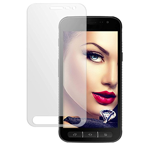 mtb more energy® Schutzglas für Samsung Galaxy Xcover 4 (SM-G390F, 5.0'') - Tempered Glass Bildschirm Schutzfolie Glasfolie