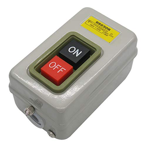 Qianqian56 Light Indicator Momentary Switch Red Green Power on Off Start Stop Push Button