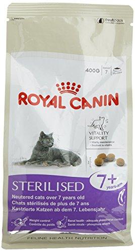 Cibo per gatti sterilizzato Canin Royal +7 400 gr