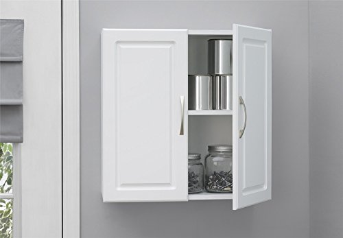 Ameriwood Kendall Wall Cabinet 24' White