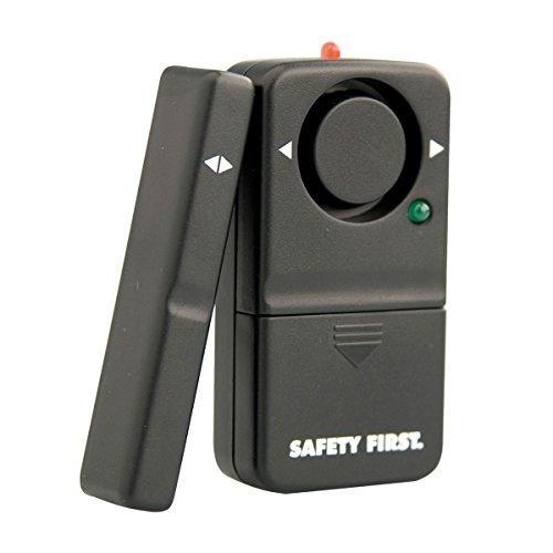 kh security Fensteralarm Safety First, schwarz, 100110