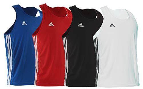 adidas Herren Base Punch Base Punch Unterhemd für Herren, Weiß, Größe L M blau