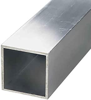Online Metal Supply 6063-T52 Aluminum Square Tube, 1-1/4