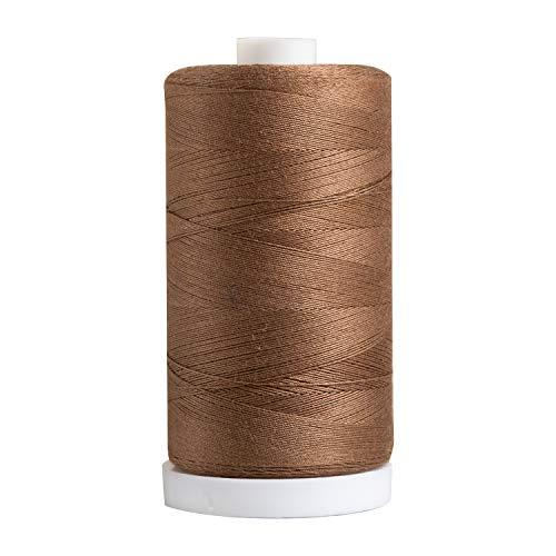 Connecting Threads 100% Cotton Thread - 1200 Yard Spool (Brown)