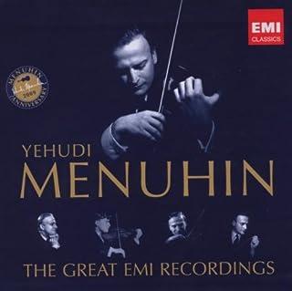 Yehudi Menuhin: The Great EMI Recordings