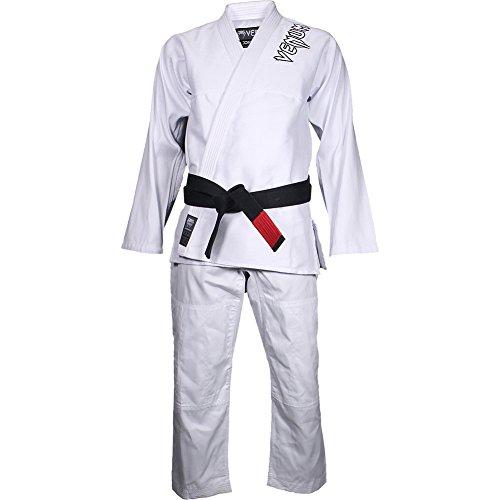 Venum Herren Kimono Contender BJJ GI, White, A4, EU-VENUM-1144