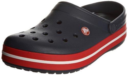 Crocs Crocband, Zuecos Unisex Adulto, color Navy/Red, talla 46-47