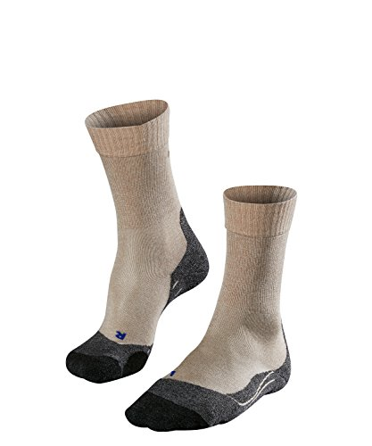 FALKE Damen TK2 Cool W SO Wandersocken, Beige (Nature Melange 4100), 37-38 (UK 4-5 Ι US 6.5-7.5)