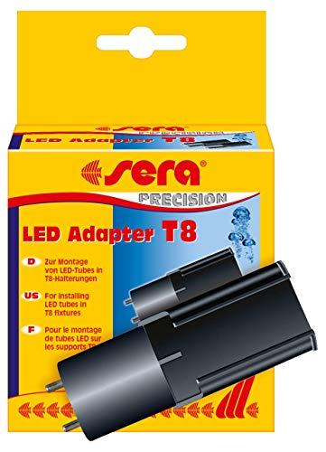 Sera LED Adapter T8 2 St., Silber
