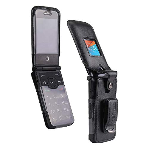 Schutzhülle für Alcatel One Touch Go Flip 4044 (Boost, Metro PCS, Sprint, T-Mobile, Virgin Mobile) Go Flip V (Verizon) Cingular Flip 2 / QuickFlip (ATundT, Cricket) MyFlip 4G (Tracfone)
