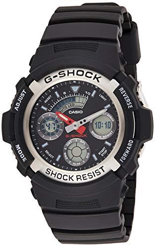 Casio G-Shock Herren Harz Uhrenarmband AW-590-1AER