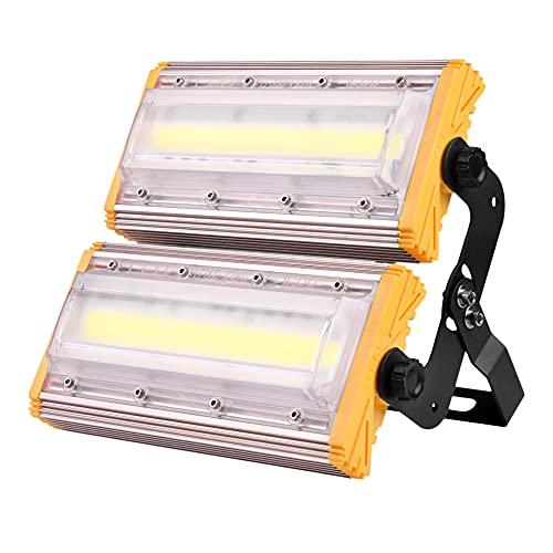 LED Prolotlight Outdoor 100W Warm White White 2800K-3200K Dawn to Dusk Lampade da parete per esterni IP65 Impermeabile impermeabile / illuminazione per spot per balcone Luce di sicurezza garage,1PCS