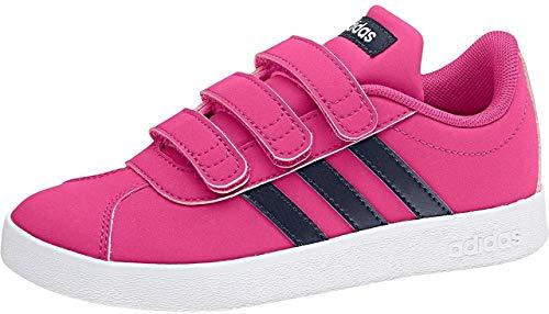 adidas VL Court 2.0 CMF I, Zapatillas de Deporte Unisex niño, Multicolor (Magrea/Tinley/Ftwbla 0), 24 EU