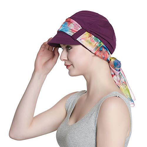 Alnorm Baumwollmützen für Frauen Chemo Winter Gemütlicher Hut