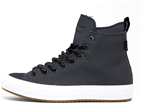Converse Men's Chuck Taylor All Star II Boot HI Shield Canvas Dark Charcoal 153568C-049 (8.5 D(M) US)