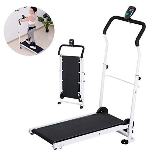 RUIXFFT Tapis roulant Pieghevole Macchina da Passeggio Tapis roulant per Uso Domestico Esercizio Cardio Fitness Portatile