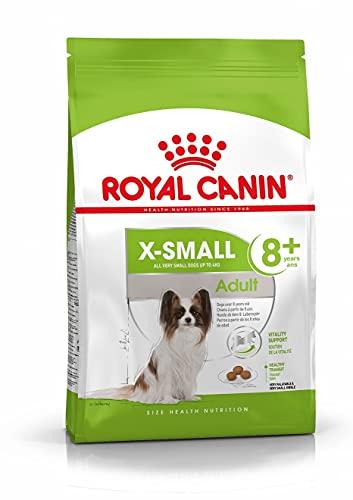 ROYAL CANIN Hundefutter X-Small Adult 8+, 1,5 kg, 1er Pack (1 x 1.5 kg)
