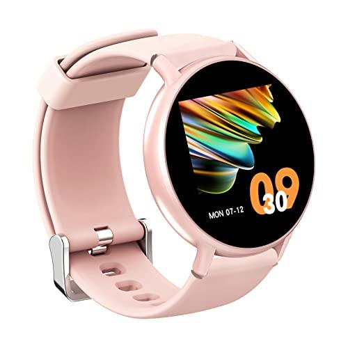 orologio fitness kcl IOWODO Smartwatch Donna Uomo 5ATM Impermeabile Cardiofrequenzimetro Sonno Orologio Fitness Tracker Contapassi Cronometro Smart Watch Notifiche Messaggi Controller Musicale Per IOS Andriod