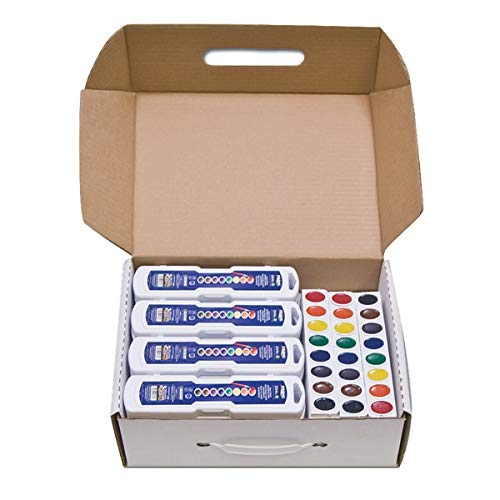 Professional Watercolors, 8 Assorted Colors,Masterpack, 36/Set, Sold as 36 Each