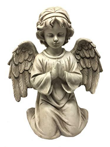 Unbekannt Engel kniend, betend - Beige, Frostfest, Höhe ca. 40,00 cm