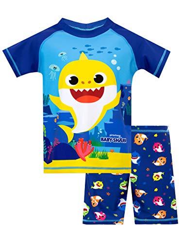 Pinkfong Jungen Baby Shark Zweiteiliger Badeanzug Blau 98