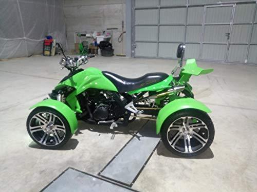 Rennrad Modell F-1 grün – Quad Modell F1 350 cc Farbe Halbgrün (außer Fotos) Jahr 2016 – 5000 Km. Perfekter Zustand.