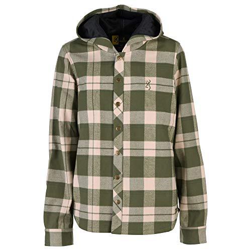 Browning Damen Lantana Shirt Jac Gesteppte Jacke, Aprikose Gebleicht, Medium