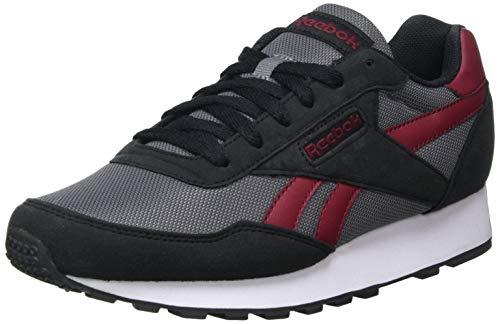Reebok Rewind Run, Zapatillas de Running Unisex Adulto, Negro/Merlot/PUGRY6, 42.5 EU